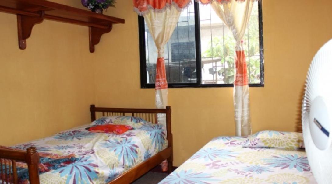 A bedroom in Ecuador